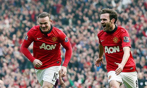 Mata hứa giúp Rooney chia sẻ gánh nặng ghi bàn