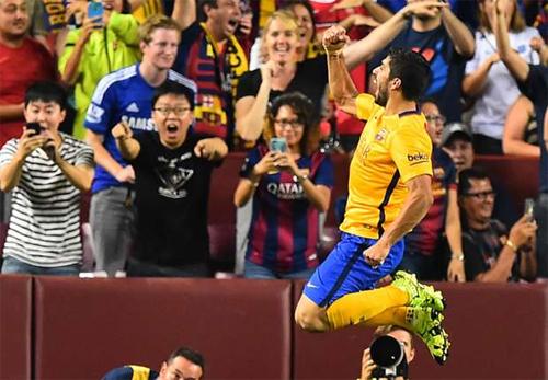 Suarez: 'Ngoại hạng Anh là giải hay nhất, nhưng Barca là đội mạnh nhất'