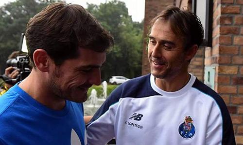 Casillas tiết lộ lý do gia nhập Porto