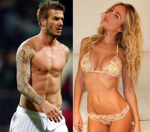 Beckham từng có đêm trắng tâm sự với siêu mẫu