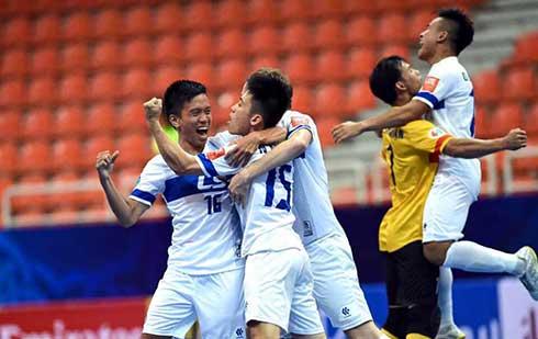 Futsal Việt Nam lập kỳ tích ở giải vô địch châu Á