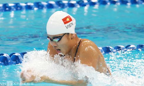 Ánh Viên dừng bước ở vòng loại 200m tự do giải vô địch thế giới