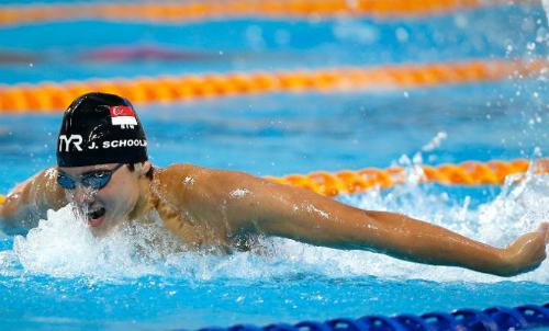 Schooling thất vọng với kết quả bơi 200m bướm