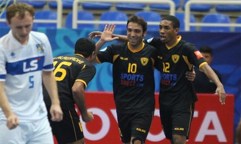 Thua luân lưu, Thái Sơn Nam dừng bước ở bán kết giải futsal châu Á