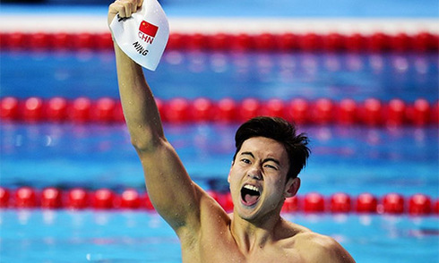 VĐV từng dính doping của Trung Quốc vô địch 100m tự do thế giới