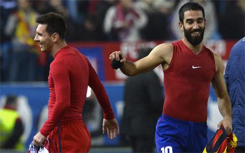 Messi sẵn sàng nhường áo số 10 cho đồng đội mới