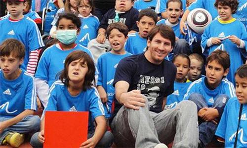 Messi làm từ thiện gần nửa triệu đôla ở Argentina