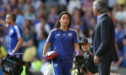 Mourinho cấm nữ bác sĩ dự các trận đấu của Chelsea