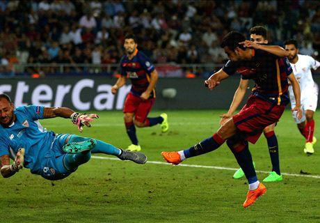 Barca giành Siêu Cup châu Âu sau màn rượt đuổi có 9 bàn thắng