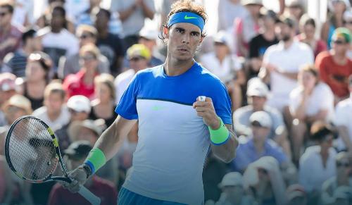 Nadal, Murray vào vòng ba Rogers Cup