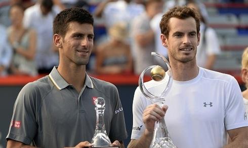 Murray quật ngã Djokovic ở chung kết Rogers Cup
