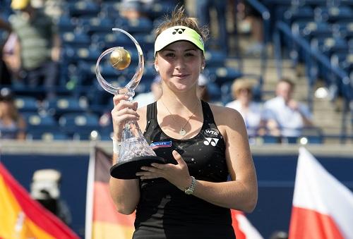 Tay vợt nữ 18 tuổi hạ một loạt ngôi sao, vô địch Rogers Cup