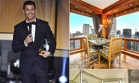 Ronaldo chi 18,5 triệu đôla mua căn hộ siêu sang tại Mỹ