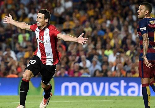 Messi ghi bàn, Bilbao vẫn giành Siêu Cup tại Nou Camp