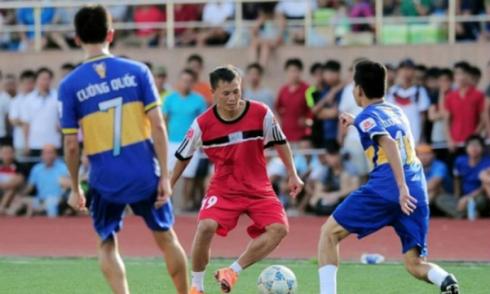 Quả bóng vàng Việt Nam tranh tài ở giải bóng đá 'phủi' Hà Nội