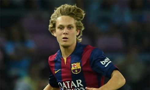 Barca cho Sporting mượn thần đồng Halilovic