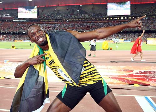 Bolt lại vô địch 100m ở giải điền kinh thế giới