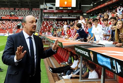 Benitez lạc quan vì mùa giải của Real còn dài