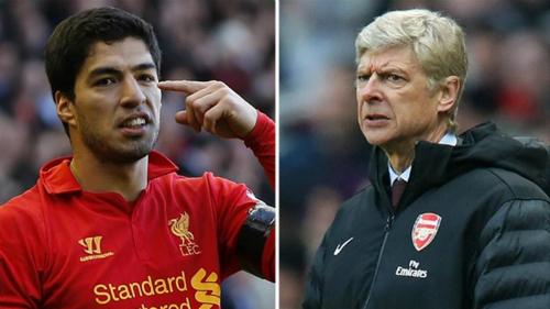 Wenger vẫn cay cú Liverpool vì lần mua hụt Suarez