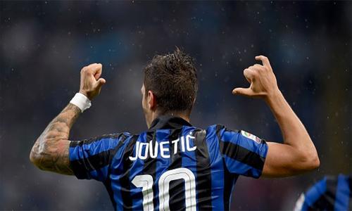 Jovetic ghi bàn cho Inter: Khi đứa con lưu lạc trở về Serie A