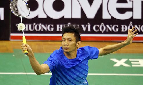 Tiến Minh đánh bại đối thủ từng xếp thứ 10 thế giới