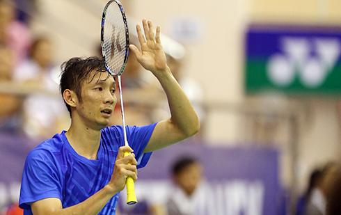 Tiến Minh nhọc nhằn vào vòng ba giải Việt Nam Open