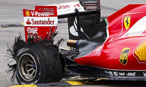 Pirelli ám chỉ Vettel đổ lỗi cho lốp để biện minh thất bại ở GP Bỉ