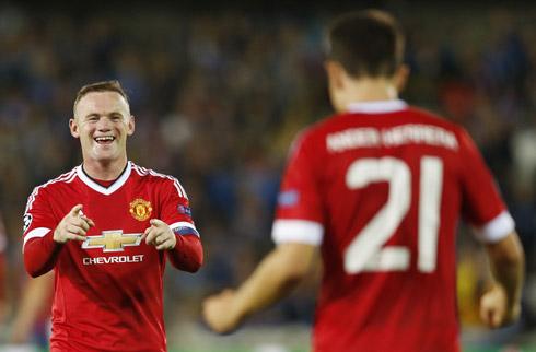 Rooney ghi hat-trick, Man Utd trở lại mái nhà Champions League