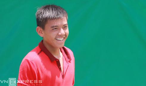 Lý Hoàng Nam bại trận trước hạt giống số tám giải F28 Futures