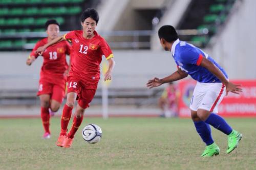 U19 Việt Nam bất phân thắng bại với U19 Malaysia
