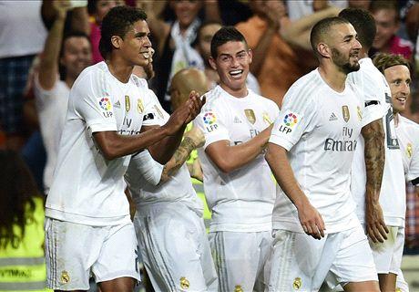 Ronaldo mất phong độ, Real vẫn thắng tưng bừng ở Liga