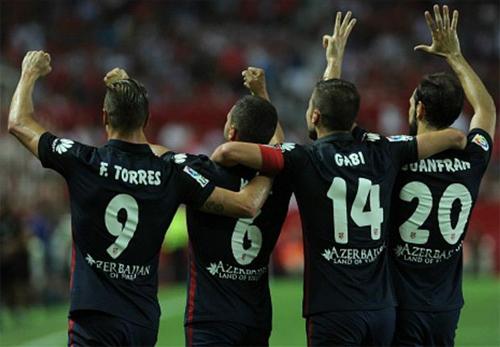 Atletico đại thắng nhà vô địch Europa League