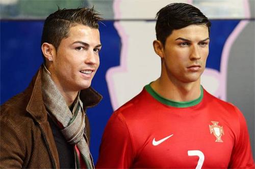 Ronaldo tự bỏ tiền làm tượng sáp cho bản thân