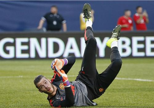 Man Utd điền tên De Gea dự Champions League