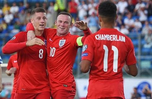 Anh giành vé đầu tiên dự Euro 2016