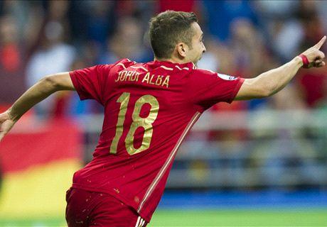 Đòi nợ thành công, Tây Ban Nha tiến gần đến vé dự Euro