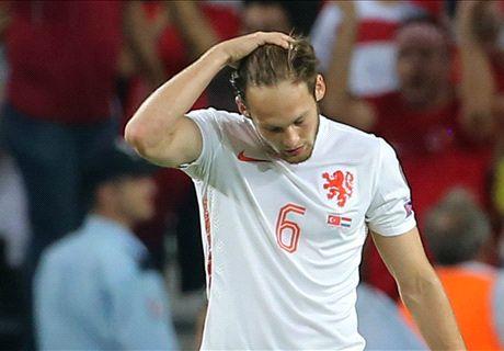 Thảm bại trước Thổ Nhĩ Kỳ, Hà Lan sắp vắng mặt tại Euro
