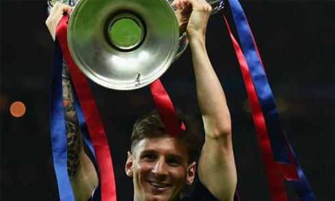 Barca được trao danh hiệu CLB hay nhất năm 2015