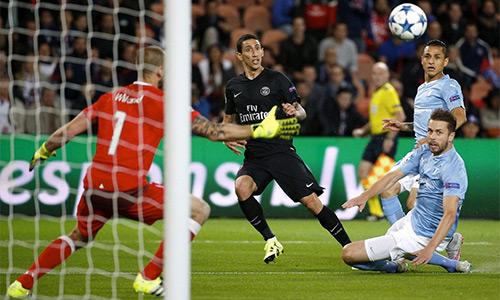 Di Maria làm lu mờ Ibrahimovic trong chiến thắng của PSG