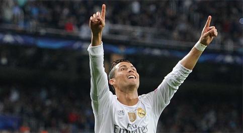 Ronaldo lập kỷ lục ghi bàn mới tại Champions League
