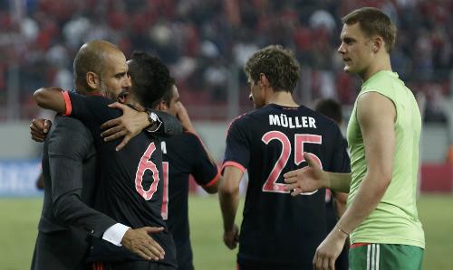 Olympiakos 0-3 Bayern: Muller mở đường bằng bàn thắng kỳ ảo