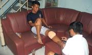 Anh Khoa dính chấn thương hiếm gặp, phải sang Singapore