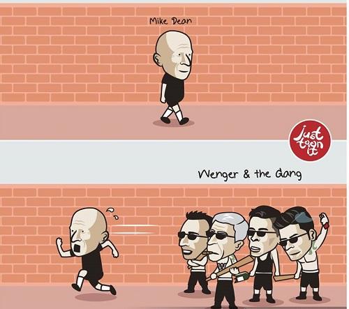 Arsenal 'chặn đường hỏi thăm' trọng tài Dean