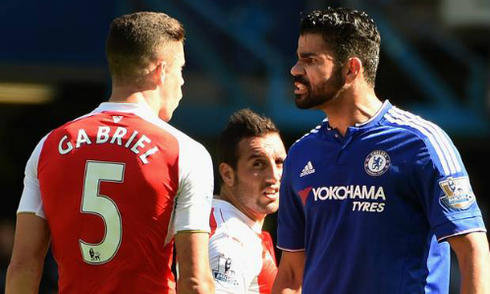 Costa nhận phạt vì hành vi bạo lực