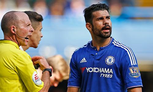 Diego Costa phạm lỗi ít hơn Alexis Sanchez mùa này