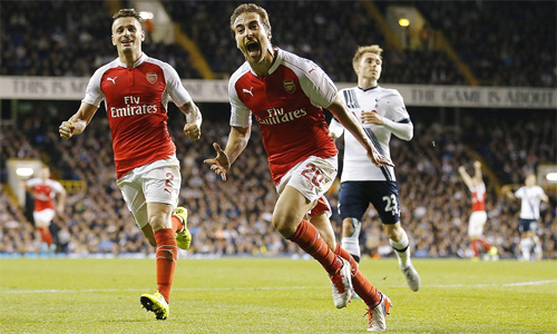 Siêu dự bị lập công, Arsenal đánh bại Tottenham