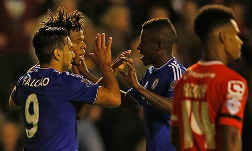 Chelsea thắng đậm, vào vòng bốn Cup Liên đoàn Anh