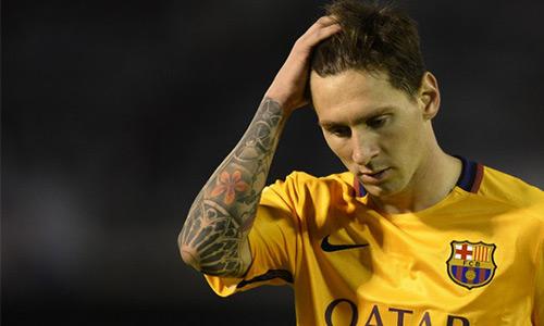 Barca thua thảm trước Celta Vigo