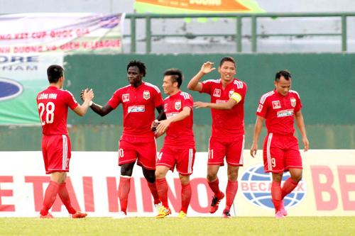 Bình Dương lần đầu đoạt Cup quốc gia