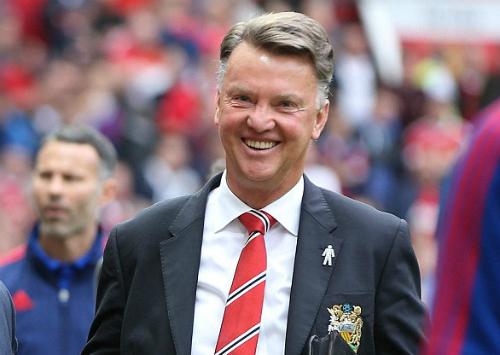 Van Gaal: 'Tôi là huấn luyện viên hạnh phúc'